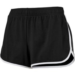 Women's Athletic Dolphin Hem Knit Shorts