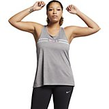 Nike Women's Miler Dri-FIT Hyper Femme Plus Size Running Tank Top