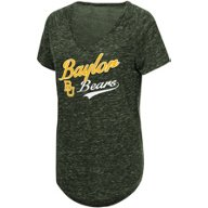 Colosseum Athletics Women's Baylor University Speckle Yarn T-shirt