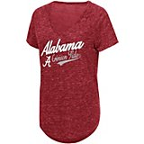 Colosseum Athletics Women's University of Alabama Now Speckle Yarn T-shirt