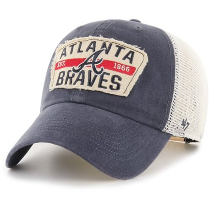 358e0736c9939 ...  47 Atlanta Braves Crawford Clean Up Cap. Braves Headwear. Hover Click  to enlarge