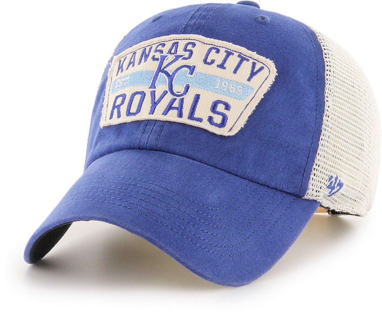 8544b473902a6  47 Kansas City Royals Crawford Clean Up Cap