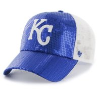 '47 Kansas City Royals Women's Clean Up Dazzle Mesh Baseball Cap