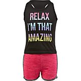 BCG Toddler Girls' Relax 2 Piece Tank Top and Shorts Set