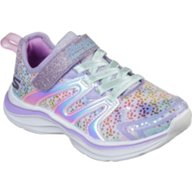 SKECHERS Kids' Double Dreams Unicorn Wishes Running Shoes