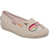 Deals on SKECHERS Womens BOBS Plush Kool Kat Shoes
