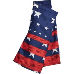 Boys' Americana Faded Stars and Stripes Board Shorts