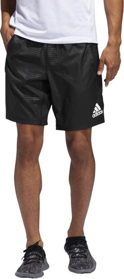 adidas Men's 4KRFT Embossed Graphic Training Shorts 10 in