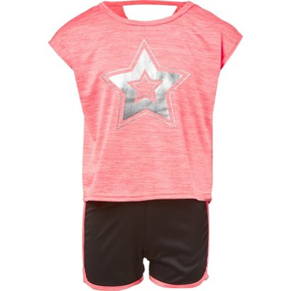 497044a086 ... Space Dye 2-Piece Top and Shorts Set. Girls' BCG Clothing. Hover/Click  to enlarge