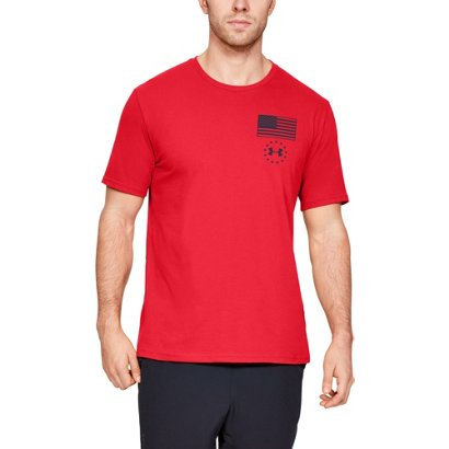 00742556 ... Under Armour Men's USA Flag LC T-shirt. Men's Shirts. Hover/Click to  enlarge