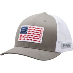 Men's PFG Mesh Snap Back Fish Flag Cap