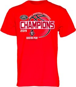 Men's Austin Peay State University 2019 Conference Tournament Champions T-shirt
