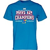 Blue 84 Men's University of Kansas 2019 Conference Tournament Champions Locker Room T-shirt