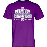 Blue 84 Men's Kansas State University 2019 Conference Tournament Champions Locker Room T-shirt