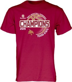 Men's Texas State University 2019 Conference Tournament Champions T-shirt
