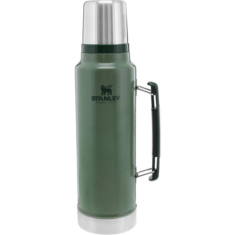 Stanley Classic Legendary 1.5 qt Bottle Hammertone Green - Thermos Cups And Koozies at Academy Sports