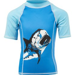 Boys' 4-7 Shark Bite Rash Guard