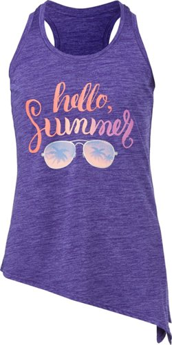 Girls' Graphic Tie Tank Top