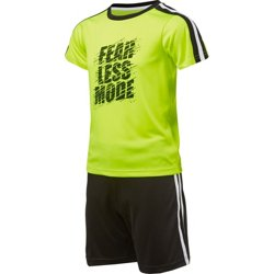 Toddler Boys' Fearless Mode 2-Piece T-shirt and Shorts Set