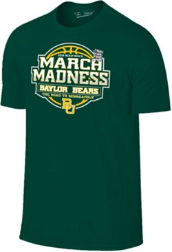 Retro Brand Men's Baylor University 2019 March Madness Tournament Bound T-shirt