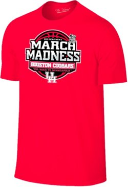 Retro Brand Men's University of Houston 2019 March Madness Tournament Bound T-shirt