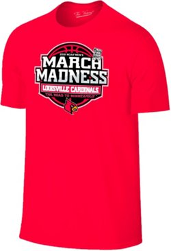 Retro Brand Men's University of Louisville 2019 March Madness Tournament Bound T-shirt