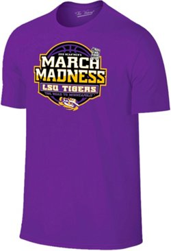 Retro Brand Men's Louisiana State University 2019 March Madness Tournament Bound T-shirt