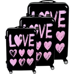 Love Hard-Sided 3-Piece Luggage Set
