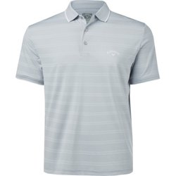 Men's Horizontal Texture Polo Shirt