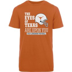 Men's University of Texas Football Schedule T-shirt