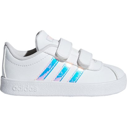 low priced f7bf6 e96be ... adidas Infant Girls  VL Court 2.0 CMF Skateboarding Shoes. Toddler  Athletic   Lifestyle Shoes. Hover Click to enlarge