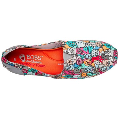 269373345850 SKECHERS Women s Bobs Plush Woof Party Slip-On Shoes