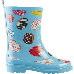 Girls' Donut Rubber Boots