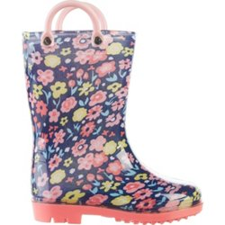 Toddler Girls' Floral Rain Boots