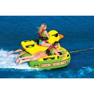 WOW Watersports Big Ducky 3-Person Inflatable Towable Tube