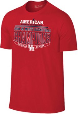 Retro Brand Men's University of Houston 2019 AAC Regular Season Champions T-shirt