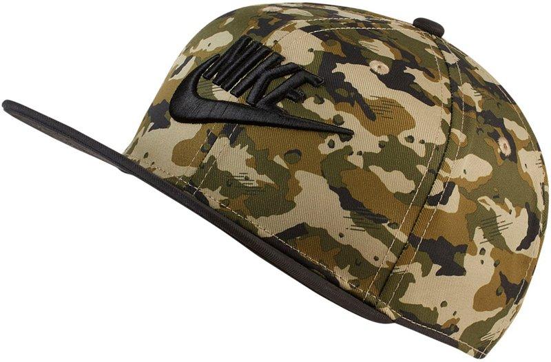 Nike Boys' True Adjustable Camo Hat Neutral O/Black, X-Small - Boy's Athletic Headwear/accessories at Academy Sports thumbnail