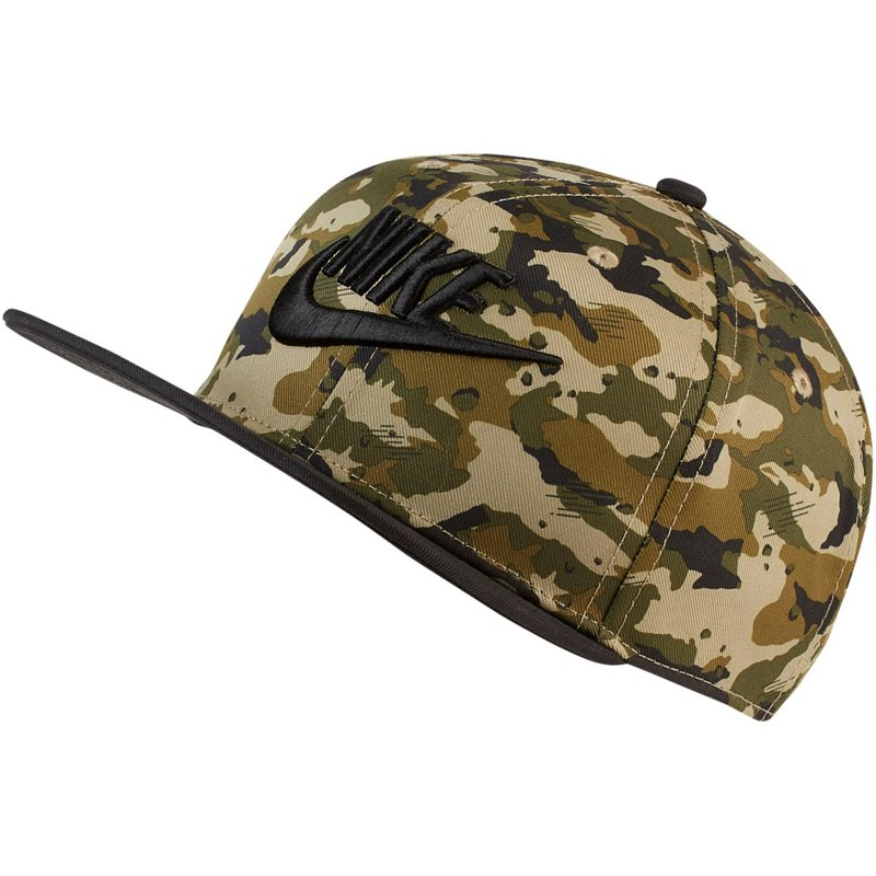 Nike Boys' True Adjustable Camo Hat Neutral O/Black, X-Small - Boy's Athletic Headwear/accessories at Academy Sports thumbnail
