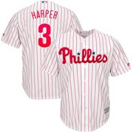 Majestic Men's Philadelphia Phillies Bryce Harper 3 COOL BASE Jersey