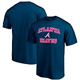 049e68f58 Men s Atlanta Braves Heart and Soul Short Sleeve T-shirt. Quick View.  Majestic