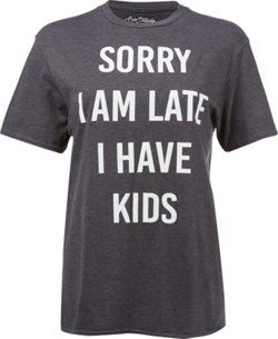 Women's Sorry I Am Late Short Sleeve T-shirt