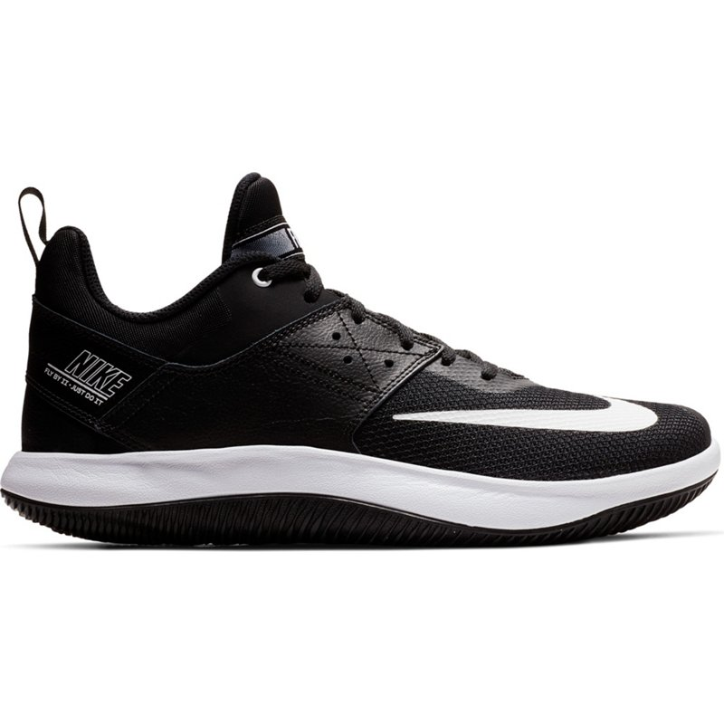 ce36ea69a14 Nike Men s Fly.By Low II Basketball Shoes Black White