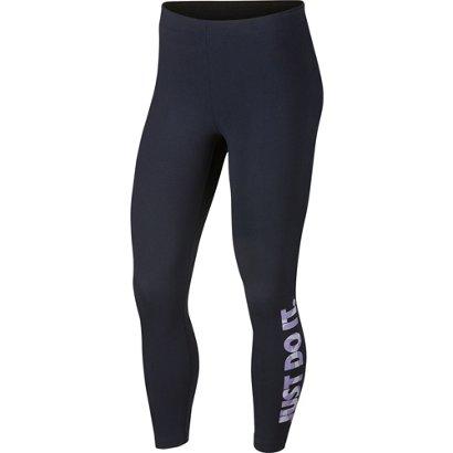 f11caf2ae7f6a Nike Women's Sportswear Club Palm Cropped Leggings | Academy