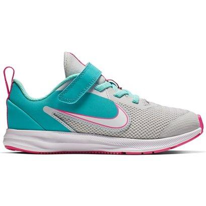 58fc0290f4d Nike Girls  Downshifter 9 Aqua Running Shoes