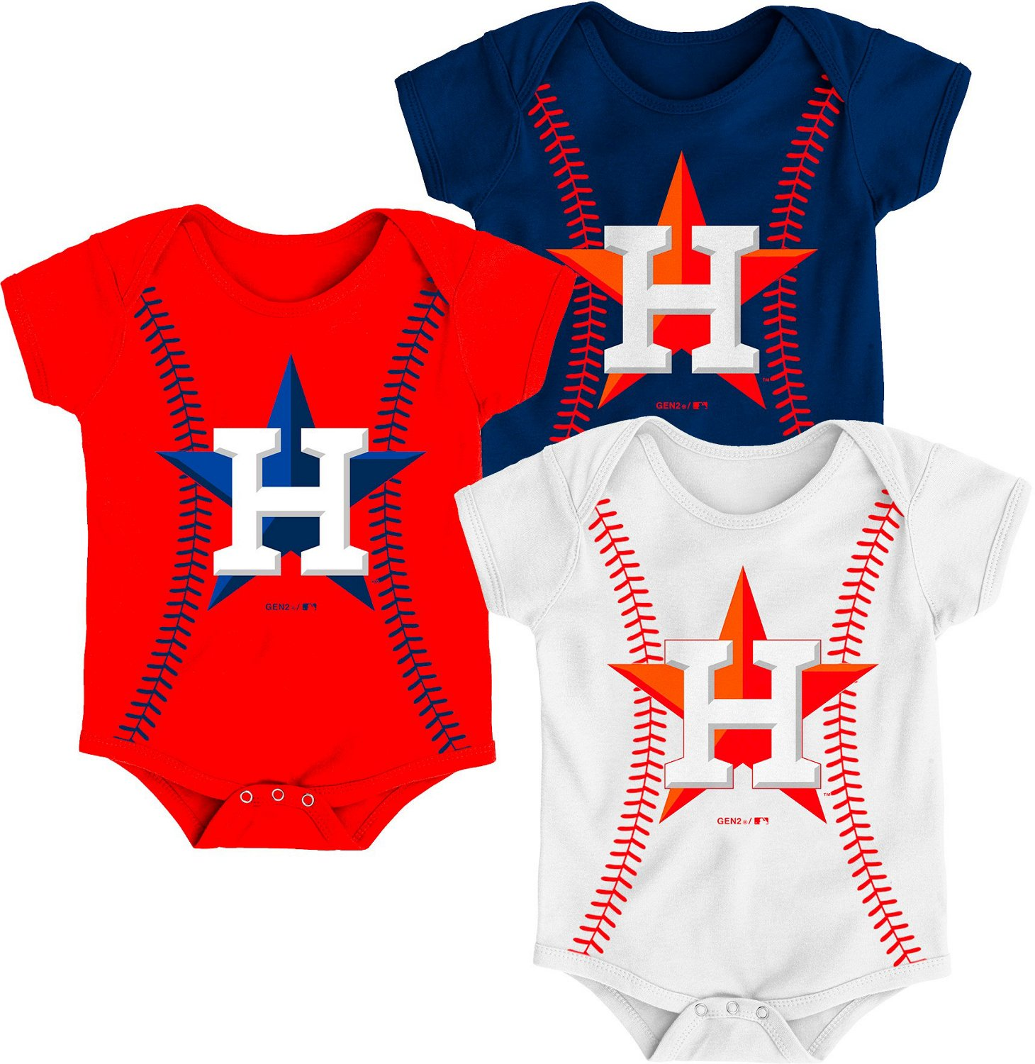 fc94c0b7 Display product reviews for Majestic Infant Boys' Houston Astros Running  Home Baseball Creepers 3-