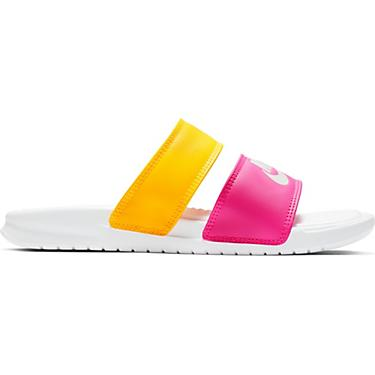 buy online 3df52 2ff4d Nike Women's Benassi Duo Ultra Slide Sandals