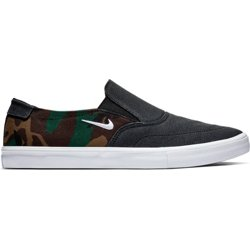 Men's SB Portmore II Solarsoft Slip-On Skateboarding Shoes