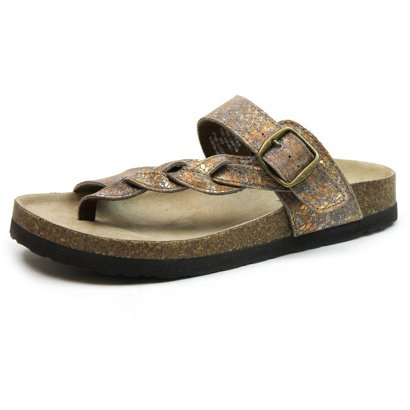 da72c5be1873 Mountain Sole Women s Hollie Footbed Sandals