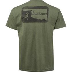 Men's Classic Oklahoma Outer Stamp T-shirt