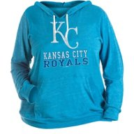 New Era Women's Plus Kansas City Royals Triblend Pullover Hoodie